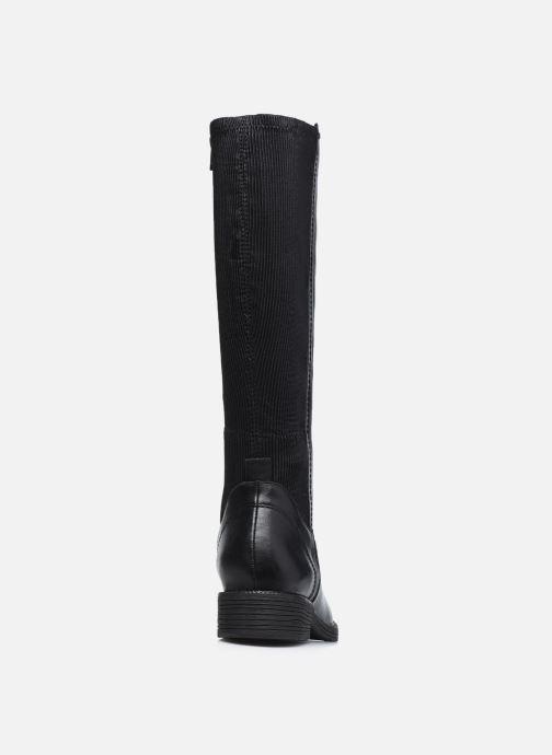 Botas Jana shoes Noa Negro vista lateral derecha