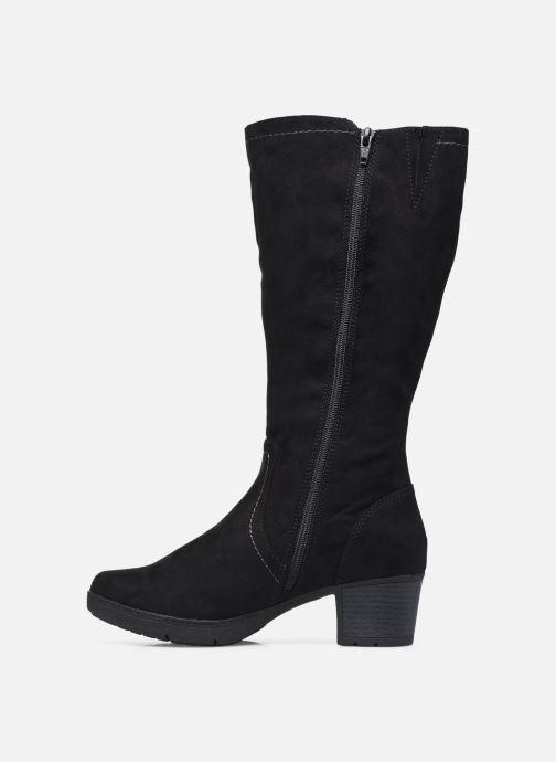 Botas Jana shoes Meloula Negro vista de frente
