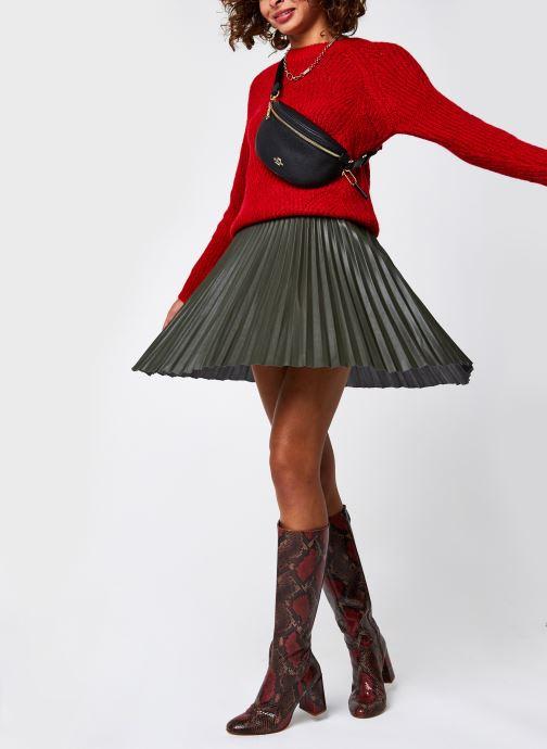 Vêtements Noisy May Nmeden O-Neck Knit Rouge vue bas / vue portée sac