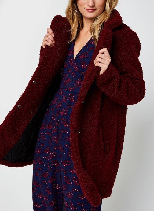 Vêtements Noisy May Nmgabi Jacket Bordeaux vue détail/paire