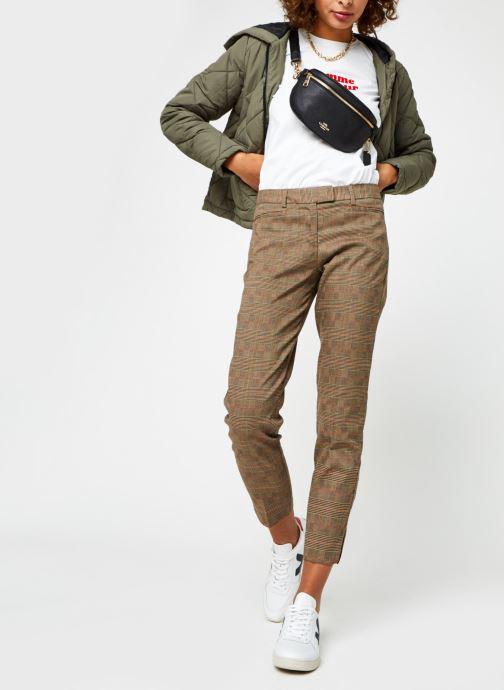 Vêtements Noisy May Nmfalcon Jacket Vert vue bas / vue portée sac