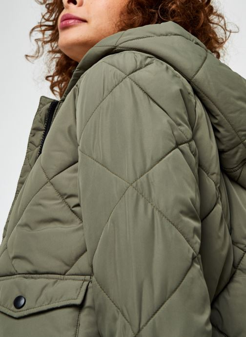 Vêtements Noisy May Nmfalcon Jacket Vert vue face