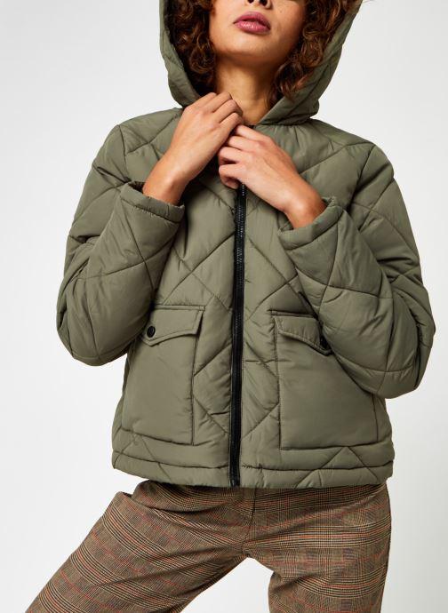 Vêtements Noisy May Nmfalcon Jacket Vert vue droite