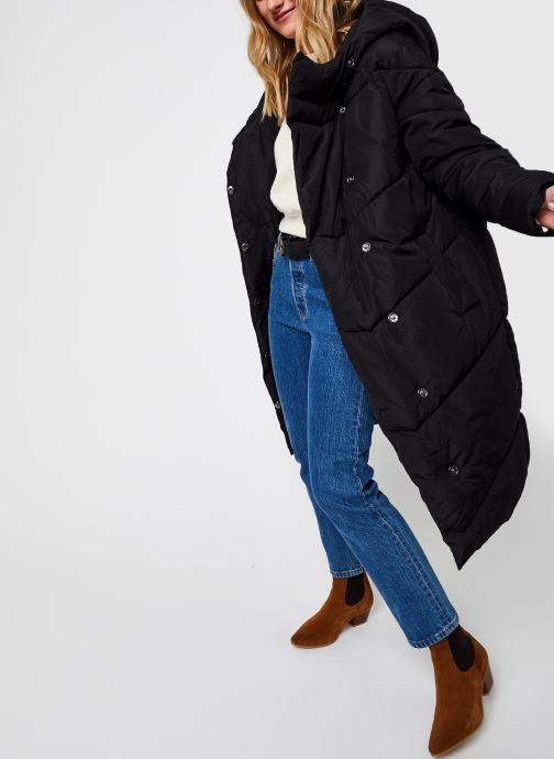 Kleding Noisy May Nmwally Long Jacket Zwart onder