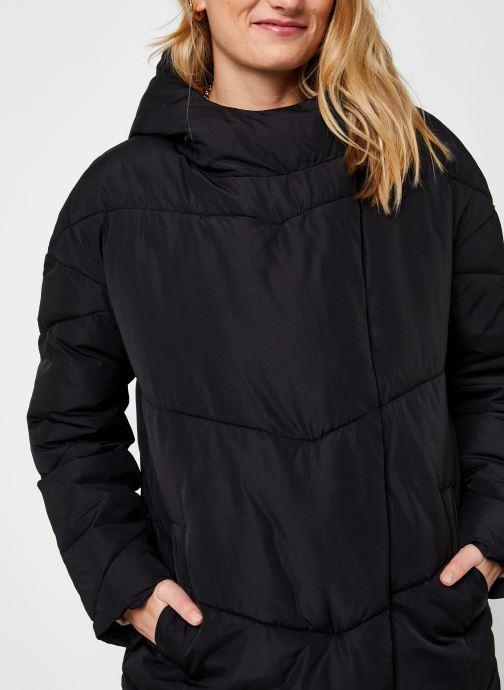 Kleding Noisy May Nmwally Long Jacket Zwart voorkant