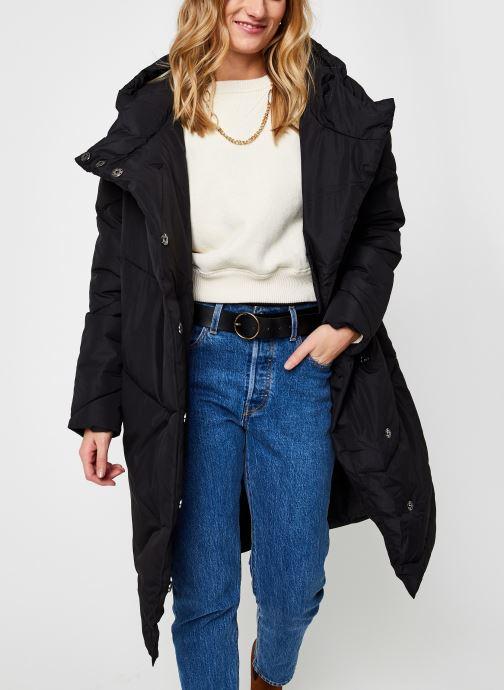 Kleding Noisy May Nmwally Long Jacket Zwart detail
