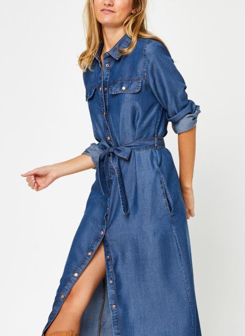 Vêtements Noisy May Nmcersei Belt Endi Dress Bleu vue détail/paire