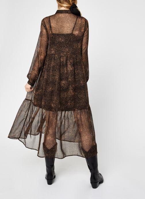 Vêtements Noisy May Nmmelina Dress Noir vue portées chaussures