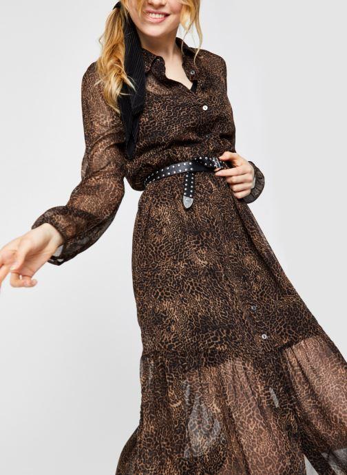 Vêtements Noisy May Nmmelina Dress Noir vue détail/paire