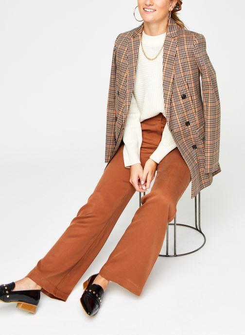 Vêtements Noisy May Nmdaryl O-Neck Knit Blanc vue bas / vue portée sac