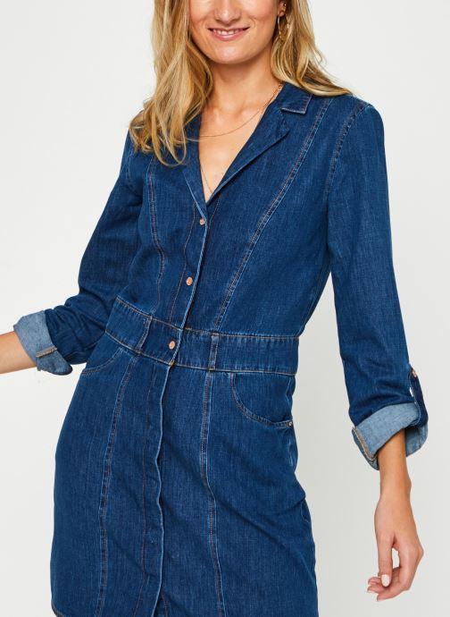 Kleding Noisy May Nmavalon Vneck Dress Blauw detail