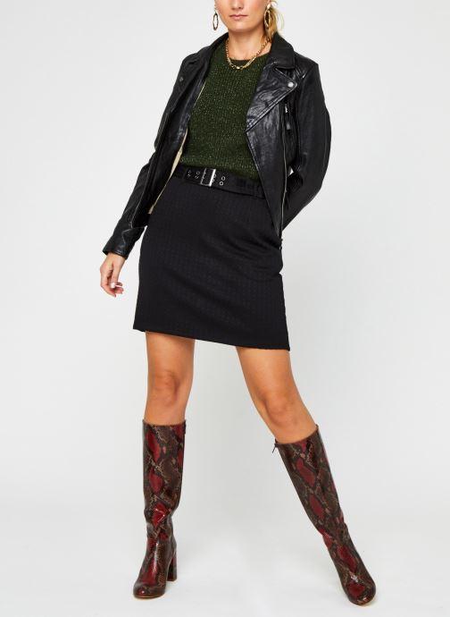 Vêtements Noisy May Nmhound Midi Skirt Noir vue bas / vue portée sac