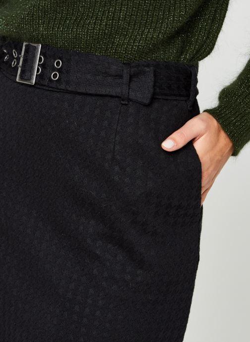 Vêtements Noisy May Nmhound Midi Skirt Noir vue face