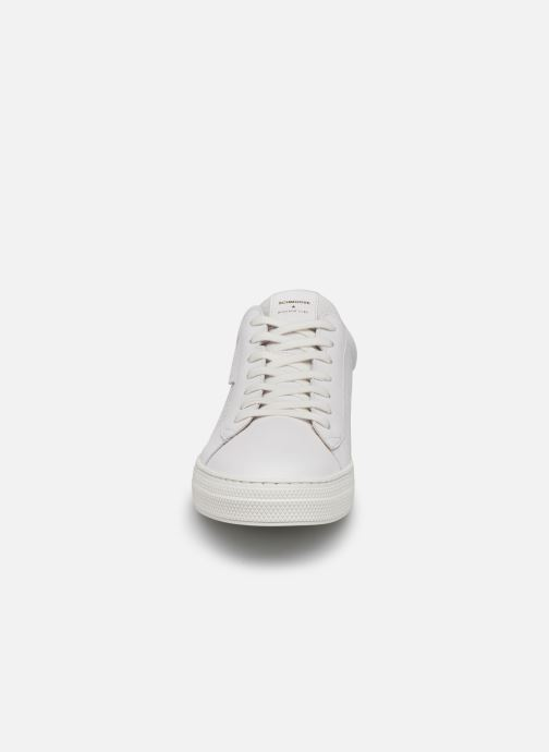 Sneaker Schmoove Spark Clay Nappa Print/Nappa weiß schuhe getragen