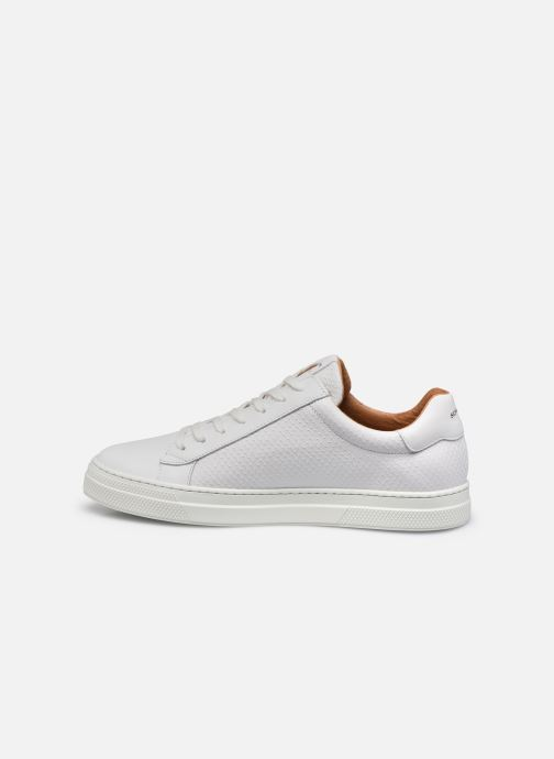 Sneaker Schmoove Spark Clay Nappa Print/Nappa weiß ansicht von vorne