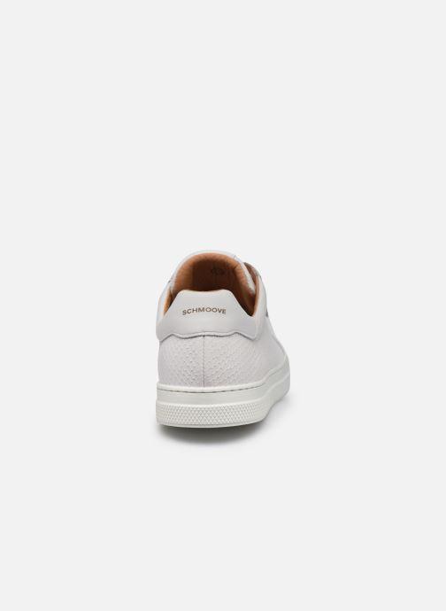 Sneaker Schmoove Spark Clay Nappa Print/Nappa weiß ansicht von rechts