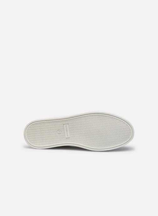 Sneaker Schmoove Spark Clay Nappa Print/Nappa weiß ansicht von oben