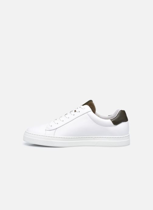 Sneakers Schmoove Spark Clay Nappa/Tong Nappa Bianco immagine frontale