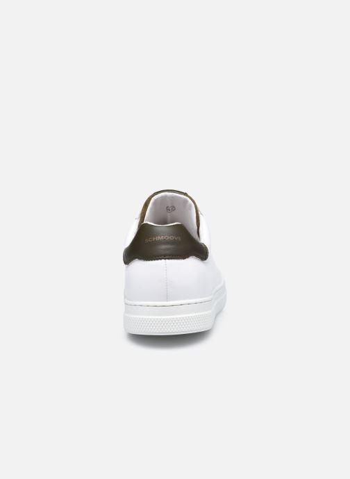 Sneaker Schmoove Spark Clay Nappa/Tong Nappa weiß ansicht von rechts