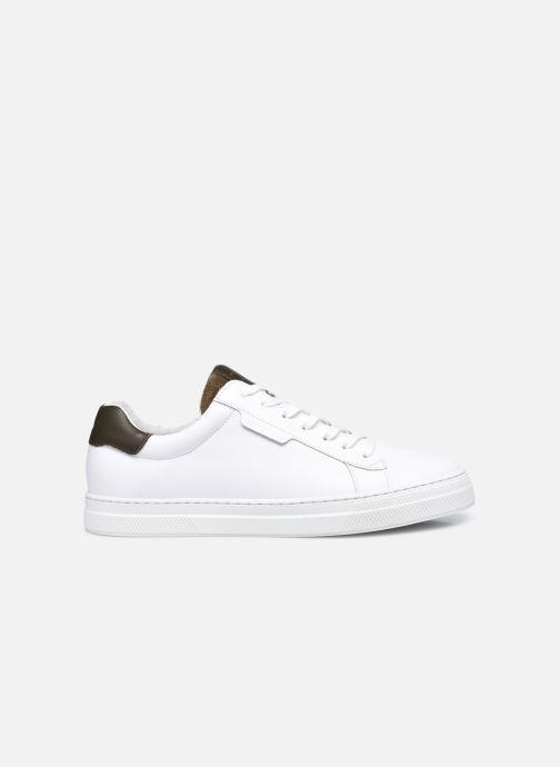 Sneaker Schmoove Spark Clay Nappa/Tong Nappa weiß ansicht von hinten