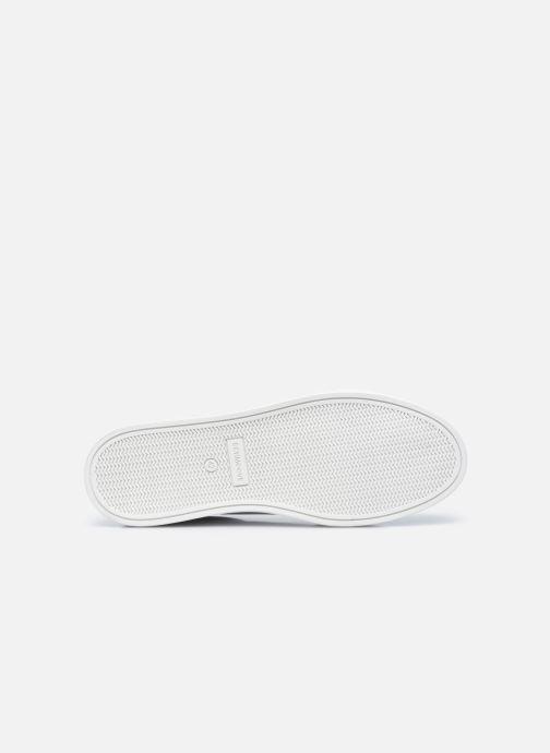 Sneaker Schmoove Spark Clay Nappa/Tong Nappa weiß ansicht von oben