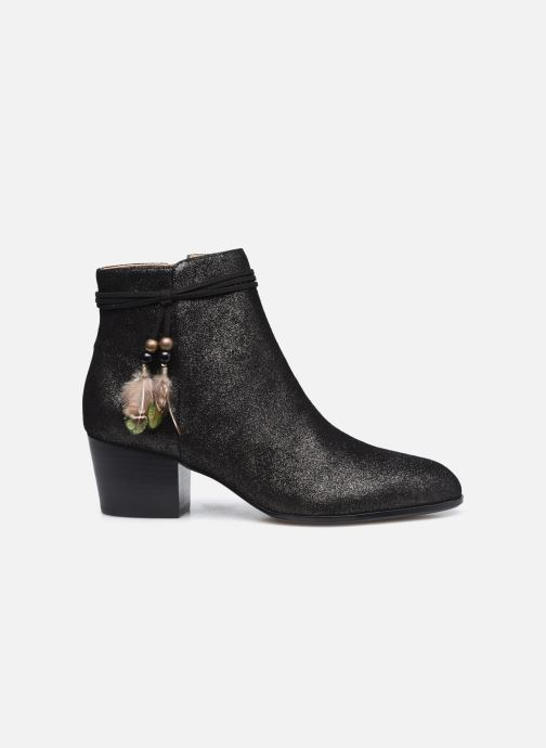 Bottines et boots Schmoove Woman Story Boots  Suede Metallic Noir vue derrière
