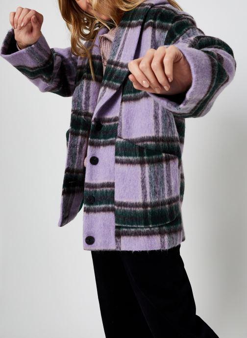 Ropa Y.A.S Yashaia Wool Jacket Multicolor vista de detalle / par