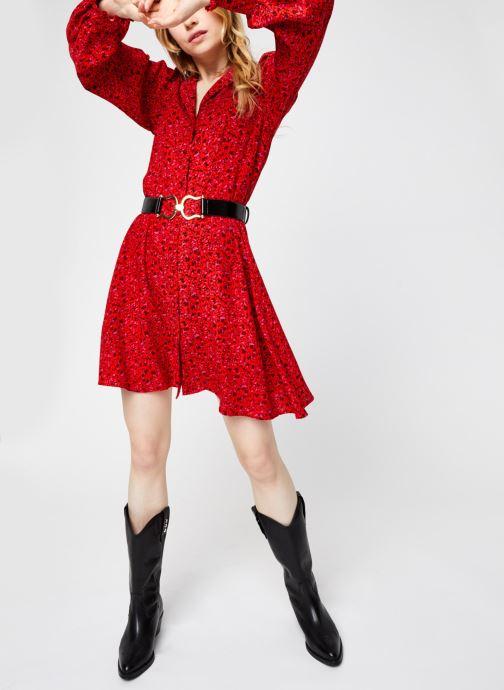 Vêtements Y.A.S Yasdahlia Shirt Dress Rose vue bas / vue portée sac