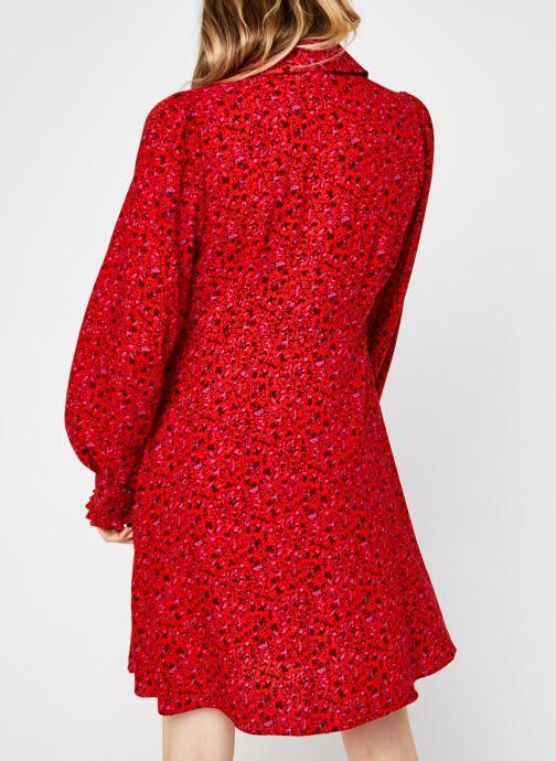 Vêtements Y.A.S Yasdahlia Shirt Dress Rose vue portées chaussures