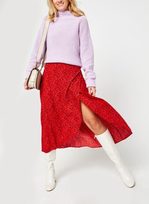 Vêtements Y.A.S Yasdahlia Wrap Ankle Skirt Rose vue bas / vue portée sac