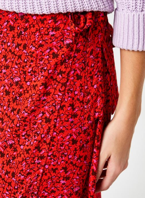 Vêtements Y.A.S Yasdahlia Wrap Ankle Skirt Rose vue face