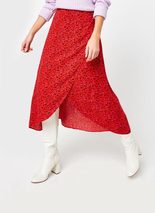Vêtements Y.A.S Yasdahlia Wrap Ankle Skirt Rose vue détail/paire