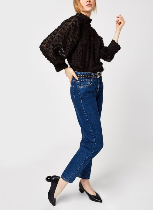 Vêtements Y.A.S Yasvivian 3/4 Top Noir vue bas / vue portée sac