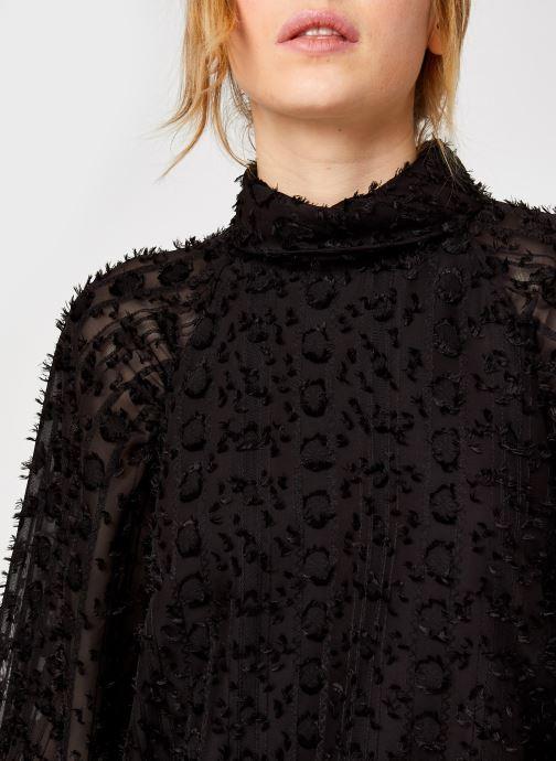 Vêtements Y.A.S Yasvivian 3/4 Top Noir vue face