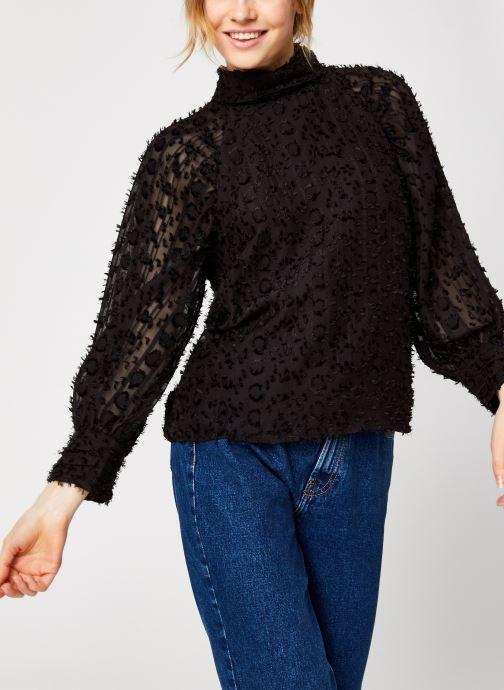 Vêtements Y.A.S Yasvivian 3/4 Top Noir vue droite