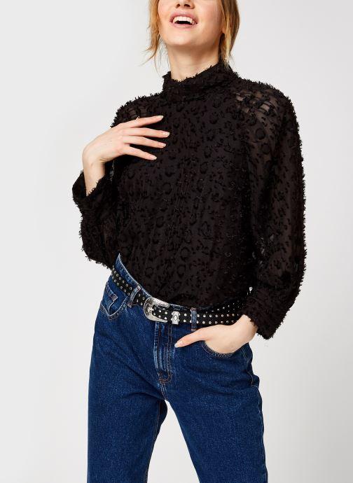 Vêtements Y.A.S Yasvivian 3/4 Top Noir vue détail/paire