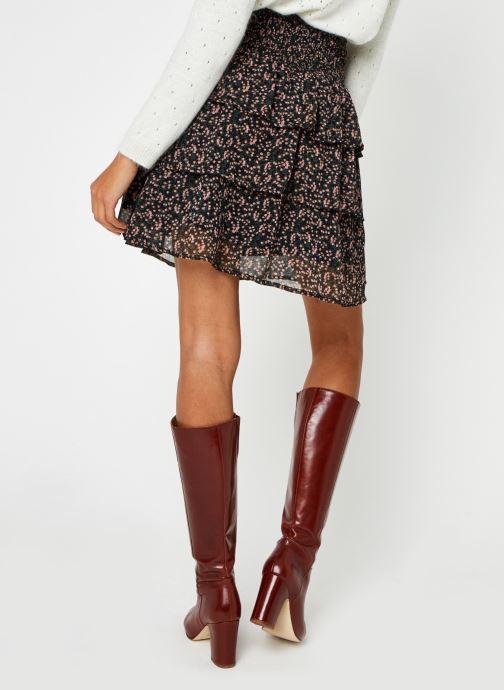 Vêtements Y.A.S Yasmira Skirt Noir vue portées chaussures