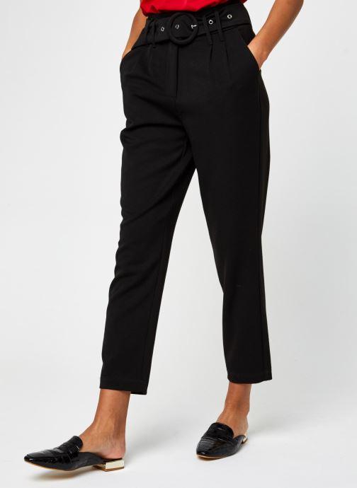 Vêtements Y.A.S Yasrustica Ankle Pant Noir vue détail/paire