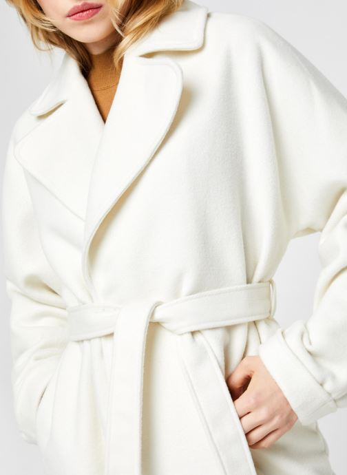 Vêtements Y.A.S Yassarmala Coat - Icon Blanc vue face