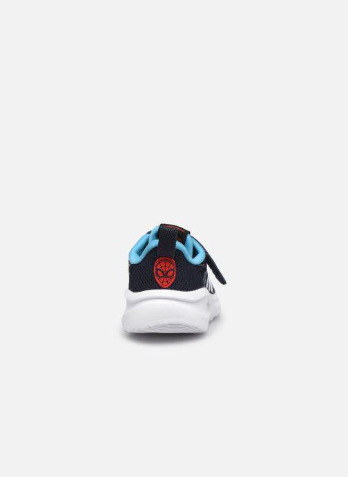 Sneakers adidas performance FortaRun Spider-ME EL I Azzurro immagine destra