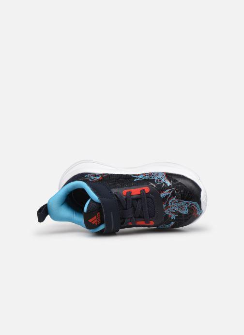 Sneakers adidas performance FortaRun Spider-ME EL I Azzurro immagine sinistra