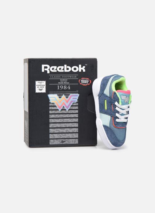 Baskets Reebok Workout Plus x Wonder Woman infant Bleu vue 3/4