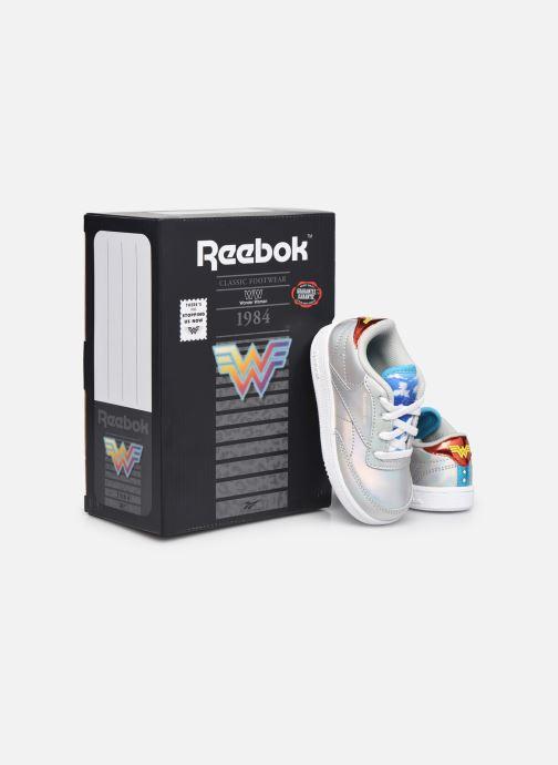 Sneaker Reebok Club C 85 x Wonder Woman infant silber 3 von 4 ansichten