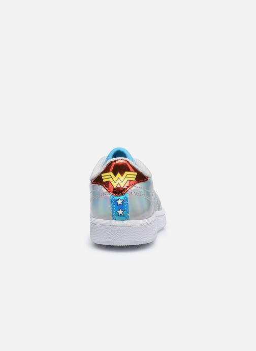 Baskets Reebok Club C 85 x Wonder Woman junior Argent vue droite
