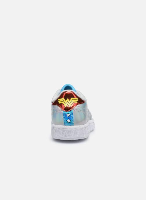 Baskets Reebok Club C 85 x Wonder Woman junior Argent vue droite