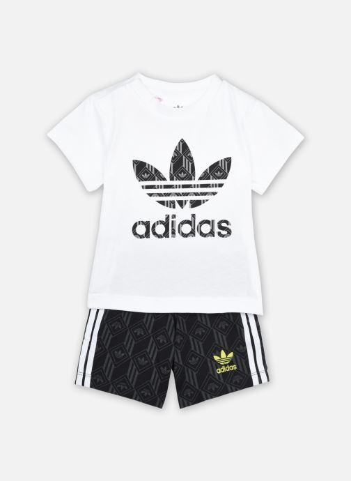 Vêtements adidas originals Short Set I Noir vue détail/paire