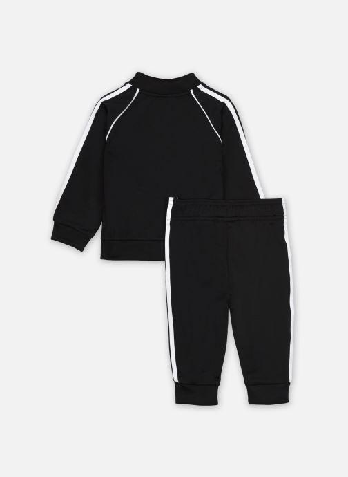 Vêtements adidas originals Sst Tracksuit I Noir vue portées chaussures