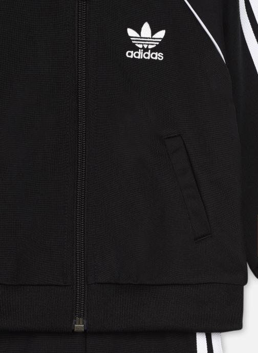 Vêtements adidas originals Sst Tracksuit I Noir vue face