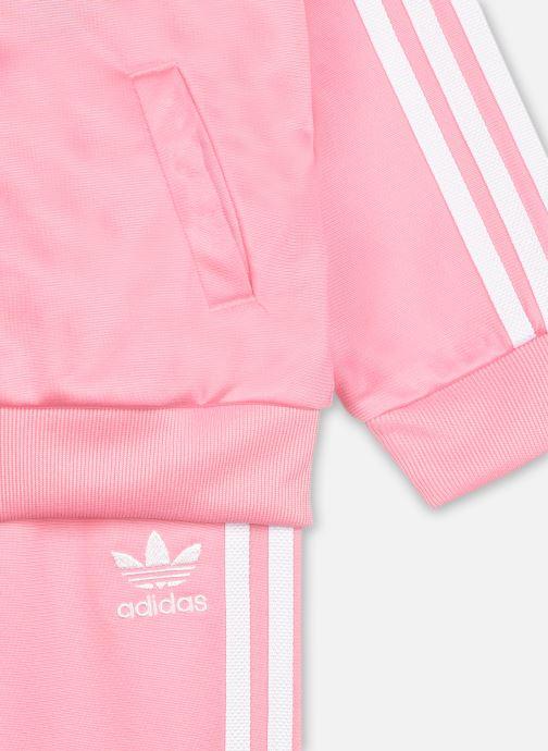 Vêtements adidas originals Sst Tracksuit I Rose vue face