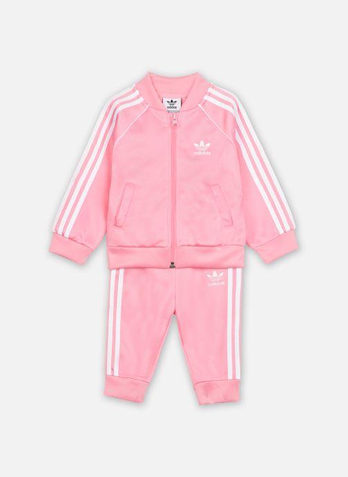 Vêtements adidas originals Sst Tracksuit I Rose vue détail/paire